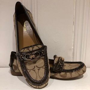 11563beb8c54 ... Coach Fortunata Signature C Loafers size 6.5 ...
